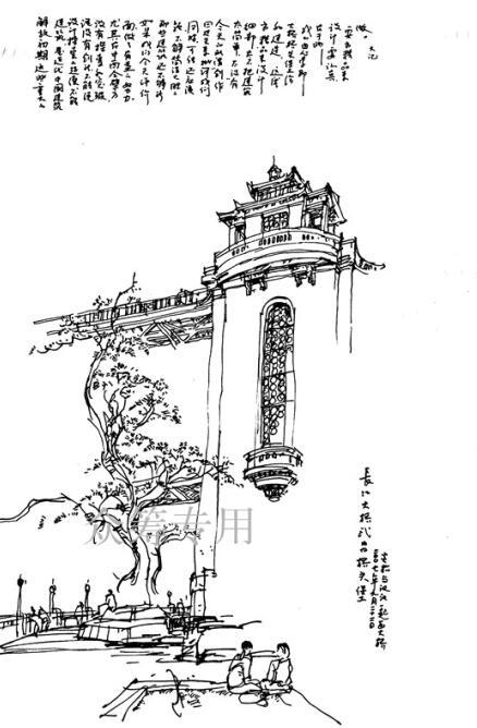 武汉长江大桥桥头堡