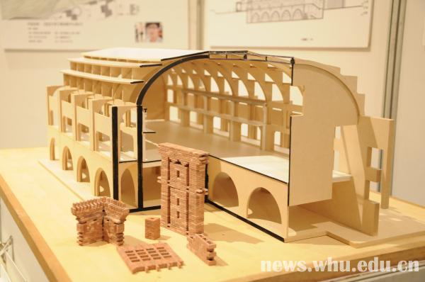 毕业设计成果展在万林艺术博物馆,大学生创新创业实践中心展出.